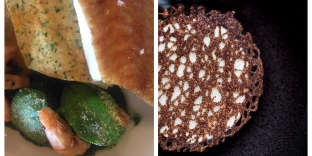 La sole du Meurice etun café Kopi Luwak, gavottes croustillantes.
