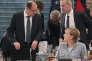 Le ministre allemand de l'agriculture, Christian Schmidt, et la chancelière, Angela Merkel, à Berlin, le 28 novembre.