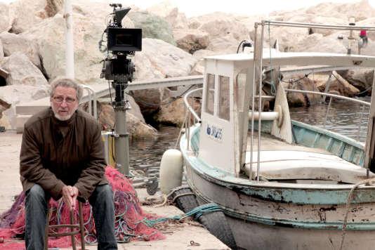 Le réalisateur Robert Guédiguian sur le tournage de son film«La Villa» à Marseille (Bouches-du-Rhône).
