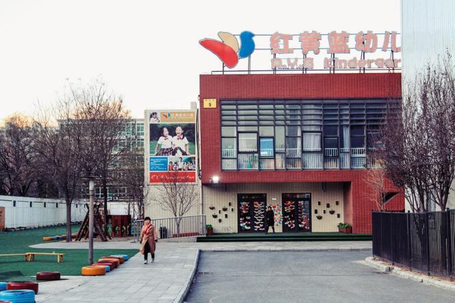 L'affaire s'est jouée dans une crèche très coûteuse de Pékin.
