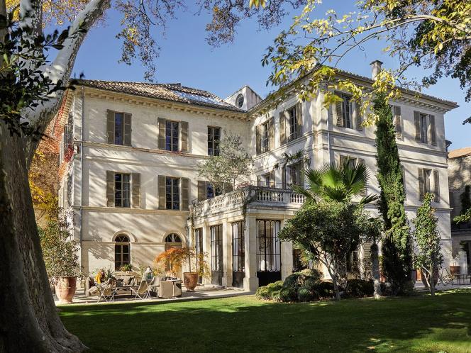 La maison d'hôtes est nichée dans l'un des plus grands jardins privés de la ville. Un luxe.