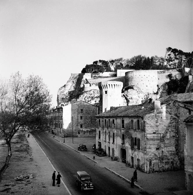 Avignon, en 1958.