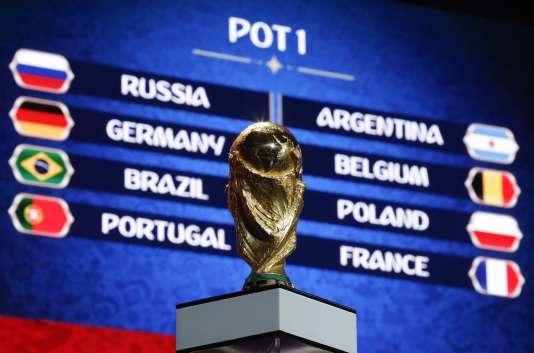 Le tirage au sort des groupes de la Coupe du monde en Russie se fera vendredi à Moscou à travers un système de têtes de série assorti d'une contrainte géographique.