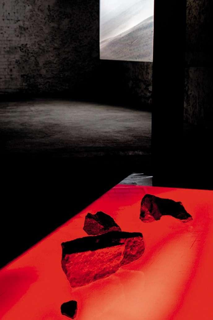«Ce serait le hasard» (2017), une installation de Caroline Corbasson.