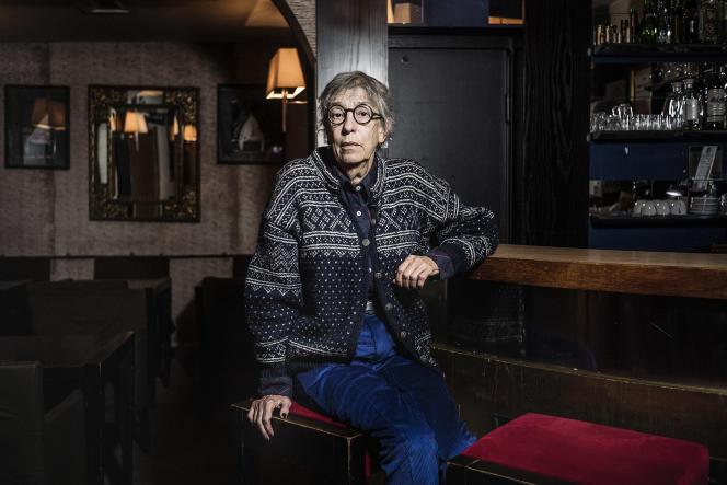 La comédienne Anémone, le 17 novembre, àParis.