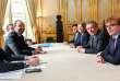 Edouard Philippe (à gauche) recevait mercredi 29 novembre les représentants des principales formations politiques au sujet du scrutin européen de 2019.