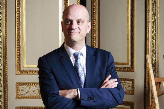 Jean-Michel Blanquer, ministre de l'éducation nationale du gouvernement d'Edouard Philippe.