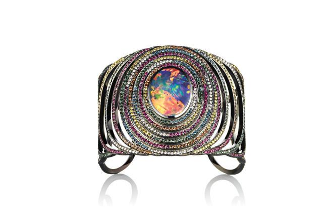 Bracelet «Opal Fruit», de Solange Azagury-Partridge.