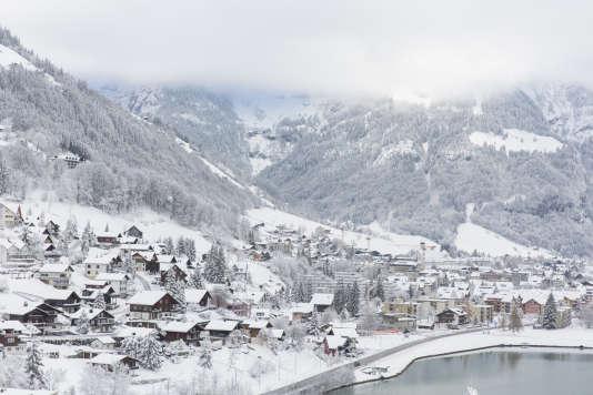Engelberg en Suisse offre une nature préservée, loin des « usines à ski » à la française.