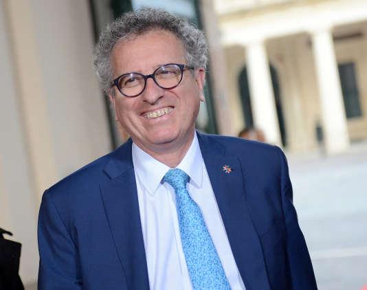 Le ministre des finances luxembourgeois, Pierre Gramegna, à La Vallette, à Malte, en avril.