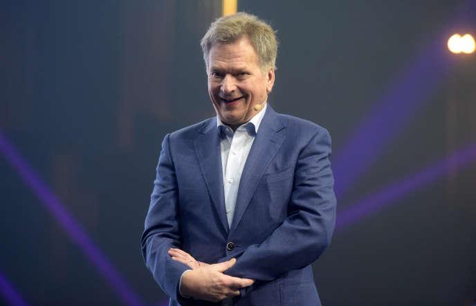 Sauli Niinistö, président de la Finlande depuis 2012, à Helsinki le 30 novembre.