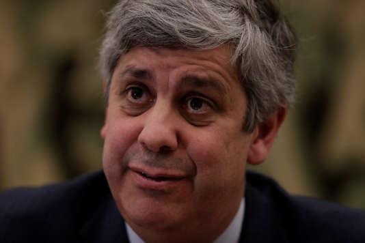 Le ministre des finances portugais, le 30 novembre, à Lisbonne.