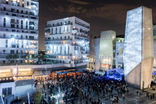 Inauguration de la place du Grand-Ouest à Massy en novembre.