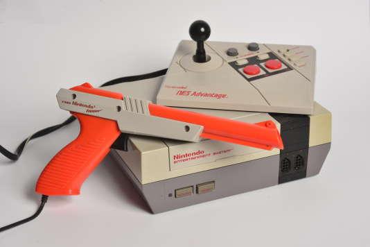 Console Nintendo NES de 1985
