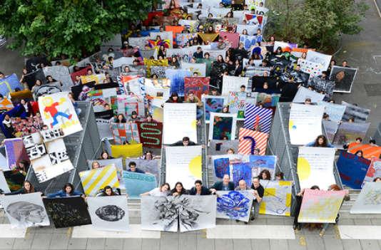 Rendu d'un workshop à l'Ensad, les« Arts Déco», à Paris.