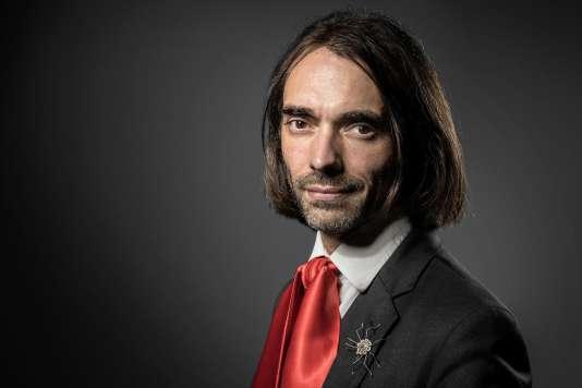 Cedric Villani, député (LRM) de l'Essonne, membre de l'Académie des sciences, le 2 juin 2017.