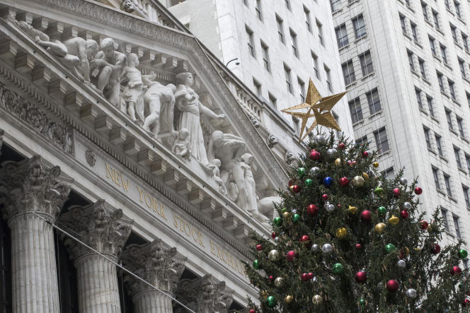 Jeudi 30 novembre, l'indice Dow Jones a battu des records à la Bourse de New York.