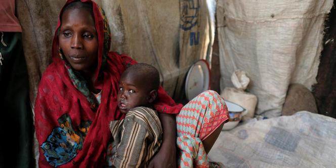 Falmata Alwana, déplacéeinterne a trouvé refuge dans le camp de Bama au Nigeria en novembre 2017.