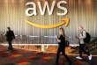 Lors de la grande conférence annuelle organisée par Amazon Web Services (AWS), filiale du géant américain du commerce en ligne, à Las Vegas (Nevada), le 30 novembre.