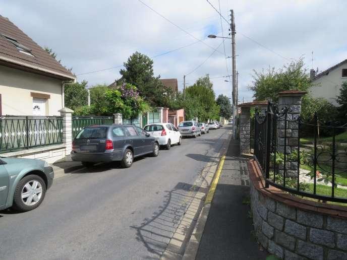 La rue de Livry-Gargan où Roger, Mireille et David Pinto ont été agressés dans leur pavillon, le 8 septembre.