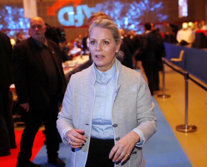 La princesse Doris von Sayn-Wittgenstein a réalisé une percée inattendue lors du congrès de l'AfD à Hanovre.