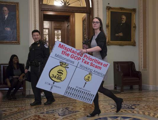 Au Congrès américain, le 1er décembre.