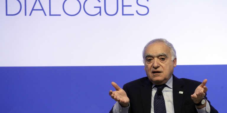 Ghassan Salamé, chef de la mission des Nations unies pour la Libye, le 2 décembre à Rome.