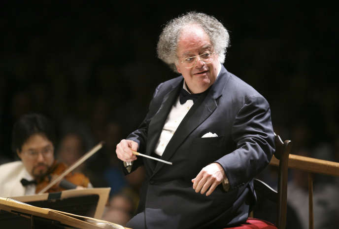 Le chef d'orchestre James Levine à Boston en 2006.