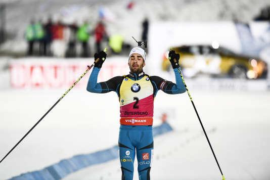 Deuxième du sprint pour sept dixièmes, Martin Fourcade a écrasé la poursuite le lendemain.