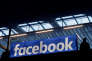 FILE PHOTO: Facebook logo is seen at a start-up companies gathering at Paris' Station F in Paris, France on January 17, 2017. REUTERS/Philippe Wojazer/File Photo