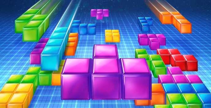Image d'illustration de« Tetris», le jeu d'origine russe publié par Nintendo sur Game Boy.