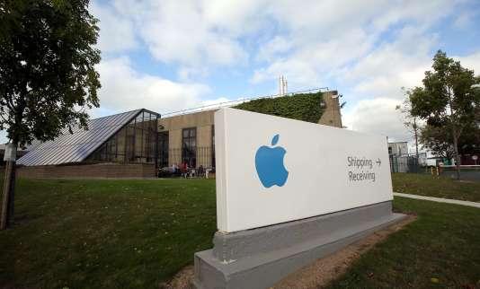 Apple à Cork,en Irlande, le 4 décembre.