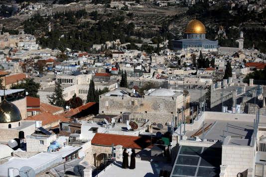 La vieille ville de Jérusalem, le 4 décembre.