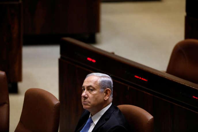 Le premier ministre israélien, Benyamin Nétanyahou, le 13 novembre, à Jérusalem.