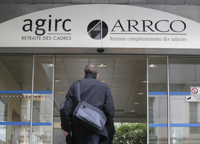 Siège social des organismes de retraite complémentaire Agirc (Association générale des institutions de retraite complémentaire des cadres) et Arrco (Association pour le régime de retraite complémentaire des salariés).