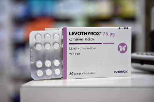 Une boîte de Levothyrox.