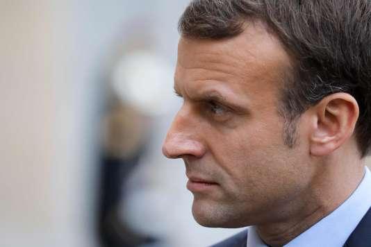 Emmanuel Macron, le 4 décembre 2017, à Paris.