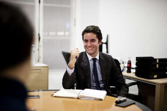 Gabriel Attal, à l'Assemblée Nationale, le 30 novembre.
