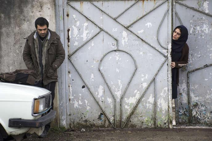 Reza Akhlaghirad et Soudabeh Beizaee dans« Un homme intègre», deMohammad Rasoulof.
