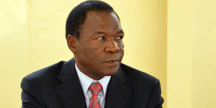 François Compaoré, le frère de l'ex-président du Burkina Faso, photographié en décembre 2012 lors d'un sommetàOuagadougou.