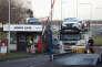 Devant l'usine Honda de Swindon (ouest de l'Angleterre), en 2013.John HARRIS/REPORT DIGITAL-REA