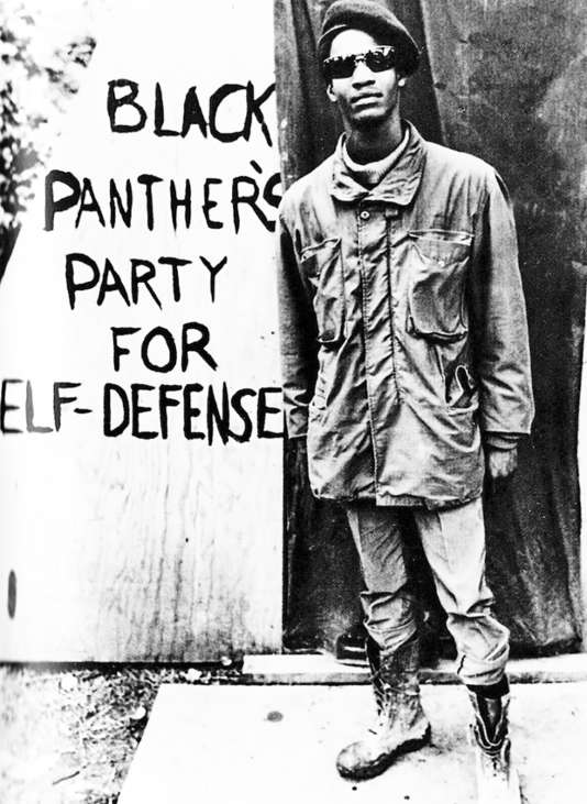 Membre des Black Panthers, 1963.