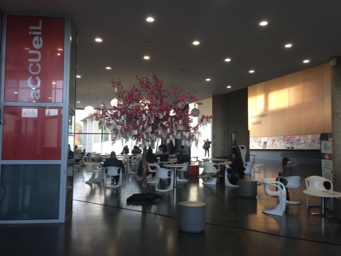 Université de Cergy (novembre 2017).