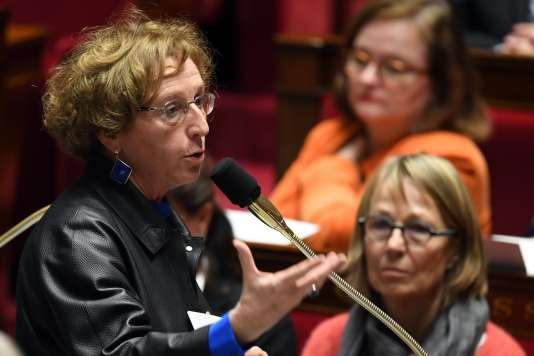 La ministre du travail, Muriel Pénicaud, à l'Assemblée nationale, le 5 décembre 2017.
