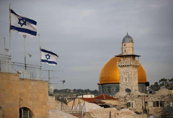 La mosquée Al-Aqsa, troisième lieu saint de l'islam, à Jérusalem, le 5 décembre 2017.