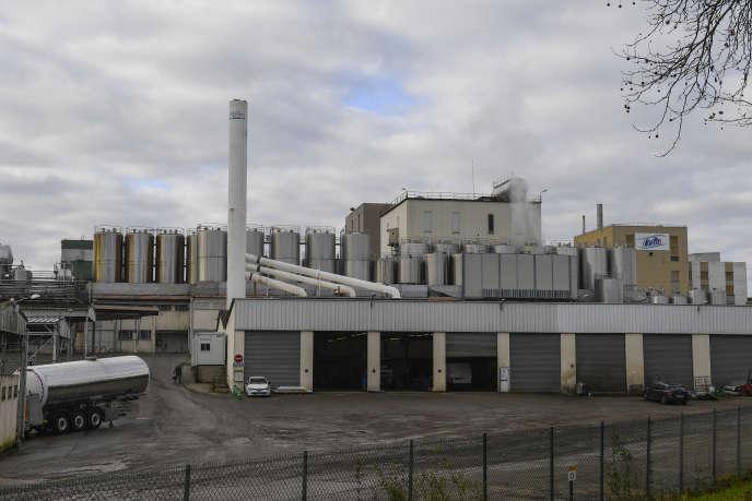 L'usine Lactalis de Craon, en Mayenne.