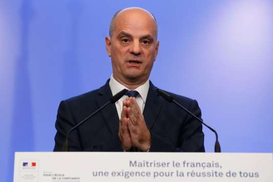 Le ministre de l'éducation nationale, Jean-Michel Blanquer, le 5 décembre.
