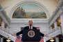 Donald Trump au capitole de l'Utah àSalt Lake City, le 4 décembre.