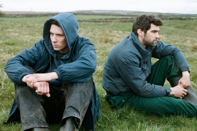Josh O'Connor etAlec Secareanu dans«Seule la terre» («God's Own Country»), de Francis Lee.