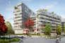«L'ensemble compte 105 logements sociaux, 122 logements privés, vendus entre 7 800 et 9 000 euros le m2, et 9 ateliers-logements consacrés à des artistes» (Le programme Esprit 14 développé par BNP Paribas Immobilier).
